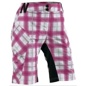 Dámské kraťasy Northwave PEARL lady chequered pink