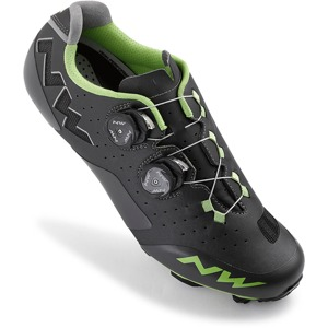 MTB tretry Northwave REBEL anthracite-acid green