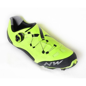 MTB tretry Northwave GHOST XC yellow fluo-black