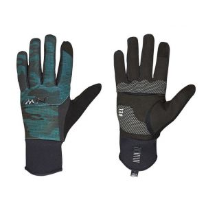 Rukavice Northwave Power 3 Full black/green forest