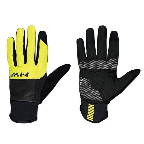 Rukavice Northwave Power 3 Full black/yellow fluo
