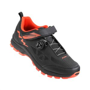 Turistické MTB tretry Northwave CORSAIR black-orange