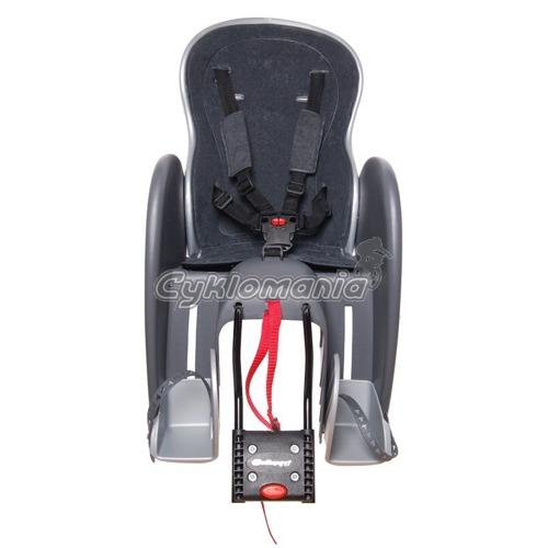 e577199fd7 Dětská sedačka POLISPORT Wallaby Deluxe zadní. Pohled zepředu