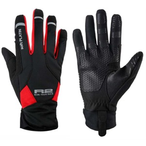Rukavice R2 Equip black/red