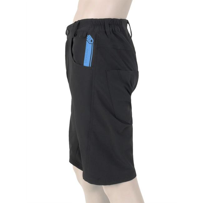 Volné kalhoty Sensor Charger černé Cyklomania.cz 43fd39c45f