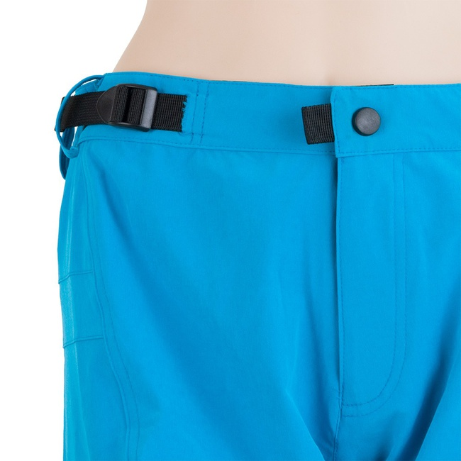Dámské volné kalhoty Sensor Helium modrá Cyklomania.cz 6f56a83e57