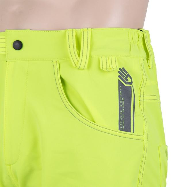 ffac193274d vyprodej Doprava zdarma. Volné kalhoty Sensor Charger reflex žluté z kategorie  Cyklo oblečení